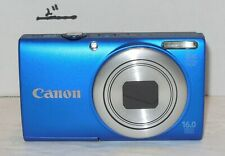 Canon PowerShot A4000 IS HD 16MP Digital Camera 8x Optical Zoom Blue