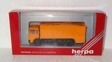 D390 Herpa 820019 MAN Pressmüllwagen orange 1:87 OVP