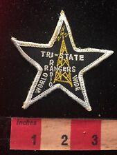 Vintage TRI-STATE WORLD WIDE RADIO RANGERS Amateur Radio Patch 81D2