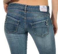 Herrlicher Piper slim Denim Powerstretch frost L30+L32 Jeans Hose W24-W31 129,95