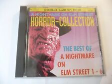 """CD COLONNA SONORA""""HORROR COLLECTION/A NIGHTMARE ON ELM STREET-VARESE 1993 OST"""""""