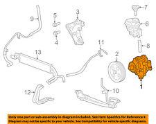 Cadillac GM OEM 09-10 CTS-Power Steering Pump 20806165