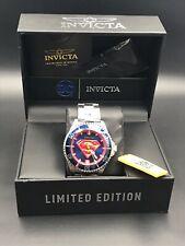 Invicta Grand Diver DC Comics Superman 47mm Automatic Blue/Red Wrist Watch...