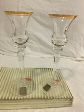 New listing Mikasa Jamestown 2 Candleholders Brand new in box (Never been used)