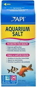 Aquarium Salt Promotes Fish Health Disease Recovery Freshwater Changing 65 oz