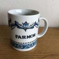 """FAR MOR Grandfather in Swedish  Coffee Mug  Berqquist Imports  3 5/8"""""""