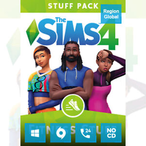 The Sims 4 Fitness Stuff Pack DLC for PC Game Origin Key Region Free