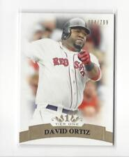 2011 Topps Tier One #79 David Ortiz Red Sox /799