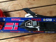 SRB Rollski Skiroller Skating Norway Edition -Wie NEU 2020@@ Rotefella Syst.