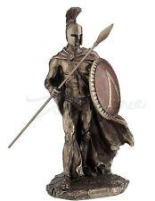 Leonidas King Of Sparta with Spear & Shield Statue Greek Warrior Sculpture
