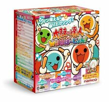 Taiko no Tatsujin Drum Master Wii U Drum/ Drumstick set from Japan New