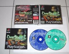 PS1 Playstation 1 OVERBLOOD 2 II - Psone ITALIANO PAL 2 Cd Over blood