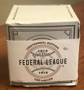 NEW Federal League Baseball 1914-1915 Reproduction Huntington Limited Ed 40/100