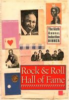 THE BYRDS / IKE & TINA TURNER 1991 ROCK & ROLL HALL OF FAME PROGRAM / NMT 2 MINT