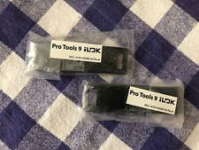Lot of TWO Avid Pro Tools 9 iLok Only