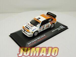 RES12 voiture 1/43 IXO altaya SEAT de Rallye : SEAT Cordoba WRC EVO III 2005