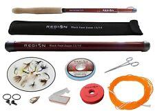 Tenkara Fly Rod - Black Foot Zoom 13'/14' w/Starter Kit - Japanese Carbon Fiber
