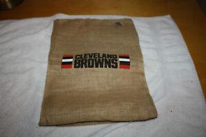 Cleveland Browns 2018  Burlap Sack Season Ticket Holder Gift - New w/ NFL Sticke
