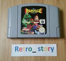 Nintendo 64 N64 Rampage PAL
