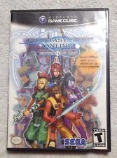 Phantasy Star Online I & II Nintendo GameCube Complete + Access Number Very Nice