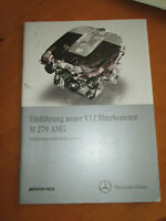 Mercedes Service Motoren - M 279 - V12 - AMG  Turbo Motor -- Service Einführung