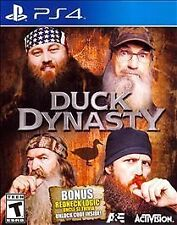Duck Dynasty PS4 New! Hunt, Race, Be A Robertson! Bonus Uncle Si Redneck Trivia