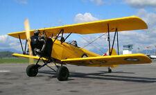 Fleet Finch Tandem RCAF Trainer Airplane Handcrafted Wood Model Regular New