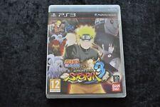 Naruto Shippuden Ultimate Ninja Storm  3 Playstation 3 PS3