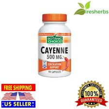 CAYENNE PEPPER 500MG BLOOD CIRCULATION ARTERY HEART HEALTH SUPPORT 90 CAPSULES