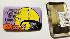 Disney 1992 pinback button NBC pin - Nightmare Before Christmas Jack Pumpkins