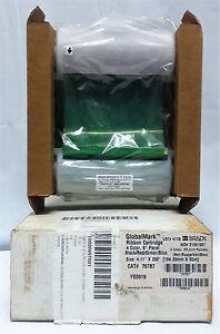 """Brady 76787 GlobalMark® Ribbon Cartridge 4.11"""" X 200' Black / Red / Blue / Green"""