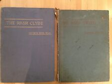 Two books by George Reid: The River Clyde and The River Tweed