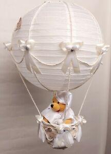 Hot Air Balloon Lamp-light Shade for Baby Nursery with Disneys Winnie the Pooh
