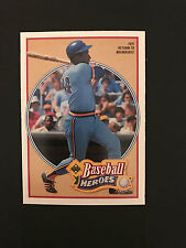 1991 Upper Deck Baseball - Hank Aaron - Heroes - Card # 24 NM