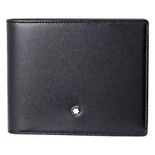 MontBlanc 6CC Black Leather Wallet