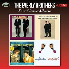 THE EVERLY BROTHERS - FOUR CLASSIC ALBUMS  2 CD NEUF