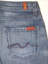 7 for all Mankind High Waist Straight Leg jeans USA made Sz 26