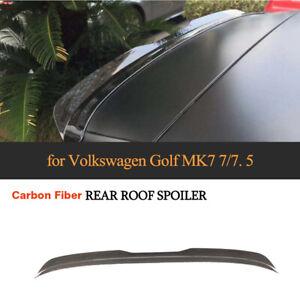 Carbon Dachspoiler Heckspoiler für VW Golf 7 7.5 VII GTI R Flügel Lippe Ansatz