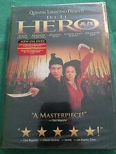 *Brand New* Hero Dvd Jet Li 2002 Quentin Tarantino Maggie Cheung