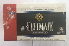 2005 Upper Deck Ultimate Collection NFL Football Factory Sealed Hobby Box