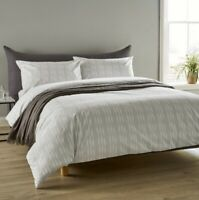 Christy Ikat Stripe Super King Duvet Set
