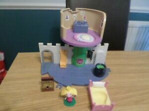 BEN AND HOLLY THISTLE CASTLE PLAYSET FREE UK POST