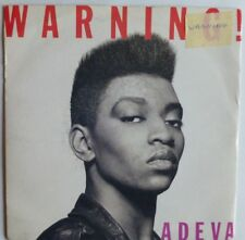 "ADEVA - WARNING 1989 7"" VINYL SINGLE. COOL 185."