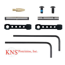 KNS 154 Non-Rotating Anti-Walk Pins with Black Gen ST Spikes/Spike's Side Plates