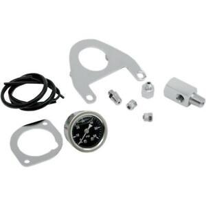 Drag Specialties Oil Pressure Gauge Kit for Harley 00 - 17 flst 00-10 fxst flhr