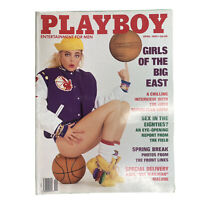 PLAYBOY Vintage Magazine Centerfold April 1989 Girls of the Big East