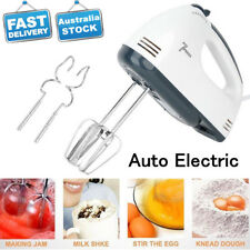 Electric 7 Speed Hand Mixer Egg Crame Cake Beaters Whisk Blender Whipper