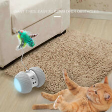 New listing Smart Electronic Cat Toy Interactive Automatically Rotating Led Pet Seducer