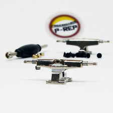 P-REP Spaced 32mm Chrucks™ - Wide Trucks for wooden fingerboard - Chrome