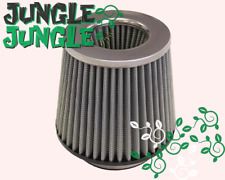 4-Inch Dry Cone-Style Performance Air Filter for Cold and Short Ram Silver/Black